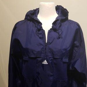 Vintage & Rare Adidas Mesh Pocket 1/4 Zip Pullover